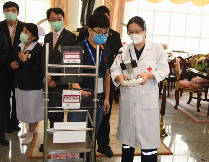 'Pinto' Robots Help Medical Personnel Fight COVID-19