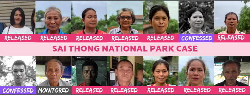 All you need to know about the Sai Thong National Park Case: Unfair Criminalisation of 14 Land Rights Defenders
